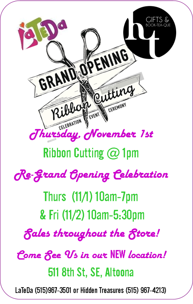 GRAND OPENING & RIBBON CUTTING 11-2018